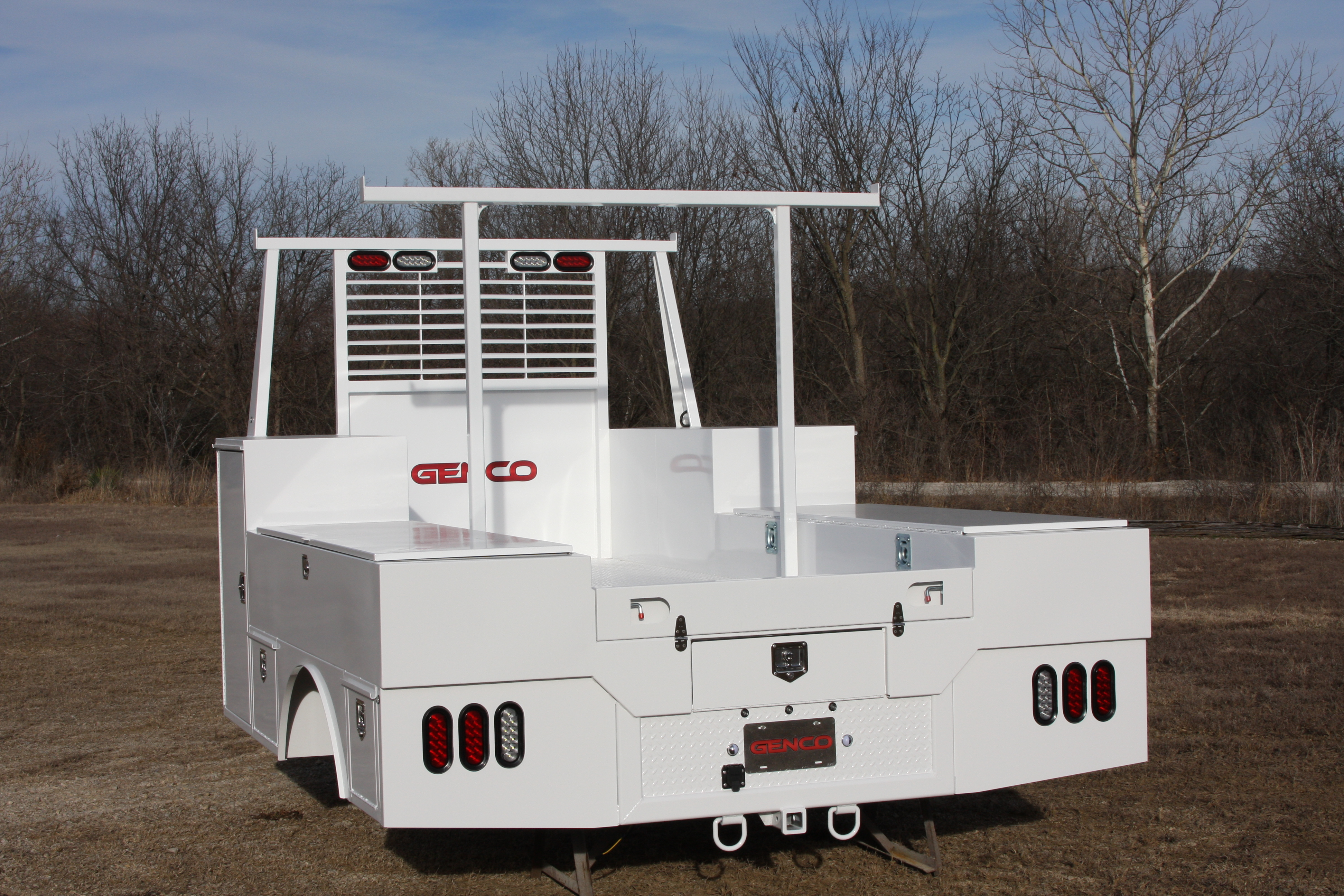 Truck Side Boxes >> Genco Royal - Utility Bed | Genco Manufacturing